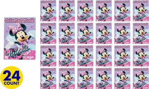 Minnie Mouse Coloring Books 24ct