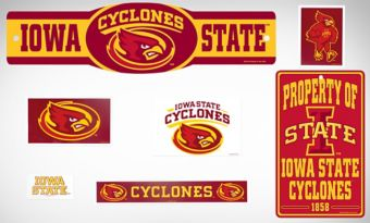 Iowa State Cyclones Dorm Room Kit