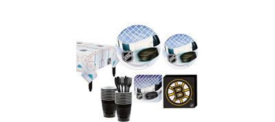 Boston Bruins Basic Party Kit for 16 Guests