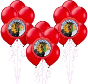 Chicago Blackhawks Balloon Kit