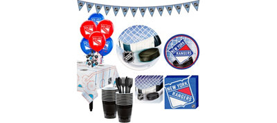 New York Rangers Super Party Kit for 16 Guests