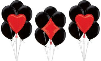 Heart & Diamond Casino Balloon Kit