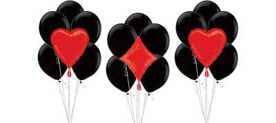 Heart & Diamond Casino Balloon Kit