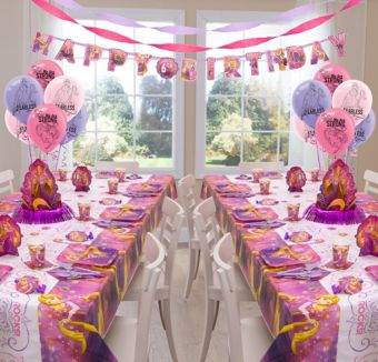 Rapunzel Deluxe Party Kit for 16 Guests