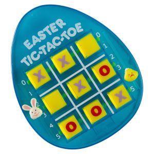 Blue Easter Egg Tic-Tac-Toe Game