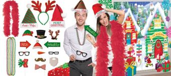 Christmas Deluxe Photo Booth Kit