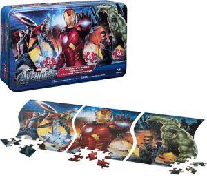 Avengers Panorama Puzzle 135pc