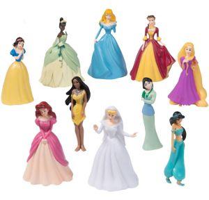 Disney Princess Figurines Playset 10pc