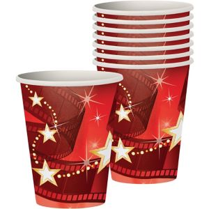 Hollywood Movie Night Cups 8ct