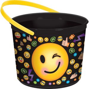 Smiley Favor Container