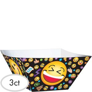 Smiley Serving Bowls 3ct