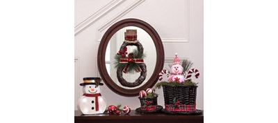 Snowman Mirror & Table Decorating Kit