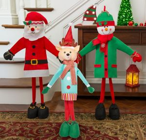 Santa's Workshop Entryway Decorating Kit