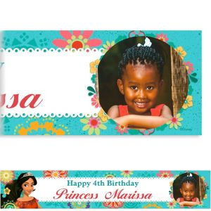 Custom Elena of Avalor Photo Banner