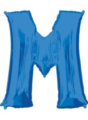 Giant Blue Letter M Balloon