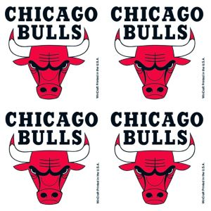 Chicago Bulls Face Tattoos 4ct