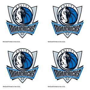 Dallas Mavericks Face Tattoos 4ct