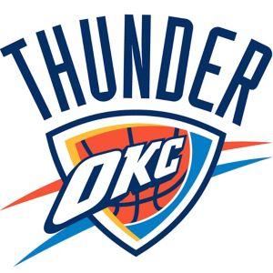 Oklahoma City Thunder Cling Decal