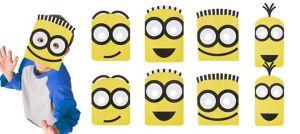 Minions Masks 8ct