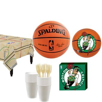Boston Celtics Basic Party Kit 16 Guests