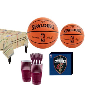 Cleveland Cavaliers Basic Party Kit 16 Guests