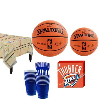 Oklahoma City Thunder Basic Party Kit 16 Guests