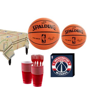 Washington Wizards Basic Party Kit 16 Guests