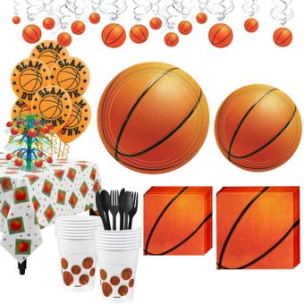 Basketball Super Party Kit 16 Guests