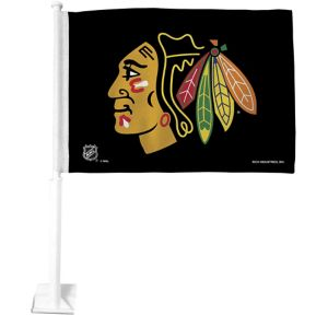Chicago Blackhawks Car Flag