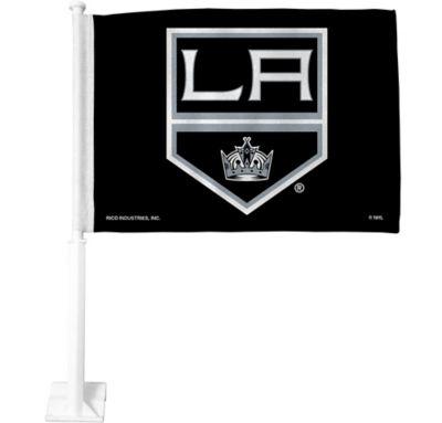 Rico NHL Los Angeles Kings Car Flag with Black Pole
