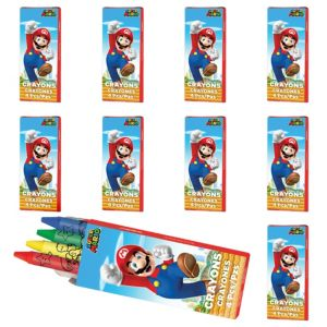 Super Mario Crayon Boxes 48ct