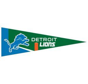 Small Detroit Lions Pennant Flag