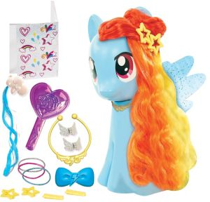 Rainbow Dash Styling Playset 17pc - My Little Pony