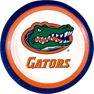 Florida Gators Lunch Plates 10ct