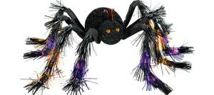 Giant Poseable Tinsel Spider