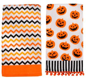 Halloween Kitchen Towels 2ct