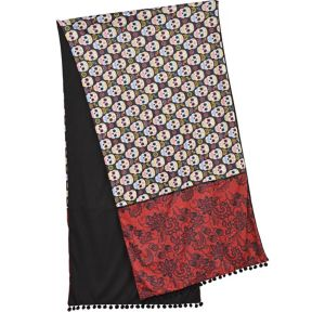 Adult Day of the Dead Shawl