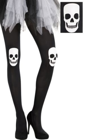 Adult Skull Tights