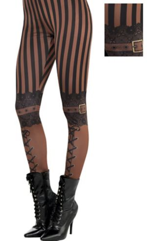 Adult Steampunk Leggings
