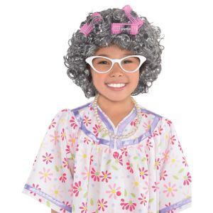 Child Grandma Costume Accessory Kit
