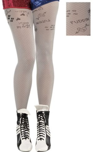 Adult Harley Quinn Tights - Suicide Squad