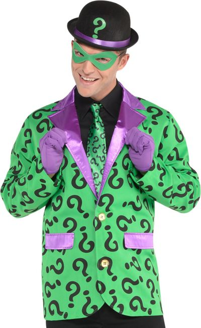 Adult Riddler Costume Accessory Kit Batman Party City