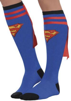 Adult Supergirl Knee Socks - Superman