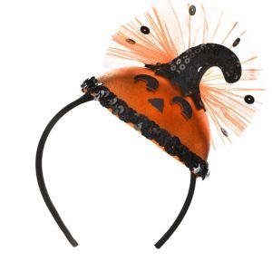 Adult Jack-o'-Lantern Headband