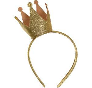 Child Glitter Crown Headband