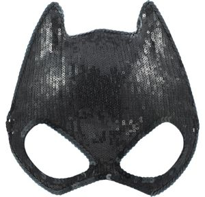 Sequin Batgirl Mask - Batman