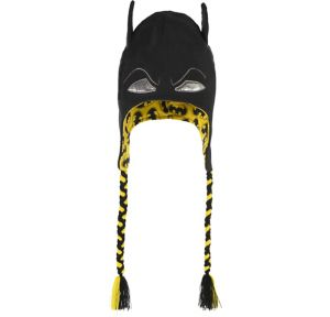 Batman Black & Yellow Peruvian Hat