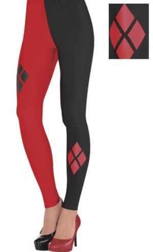 Adult Harley Quinn Leggings - Batman