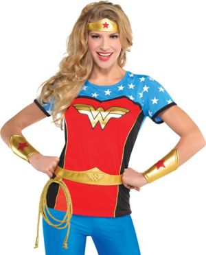 Adult Wonder Woman Costume Accessory Kit