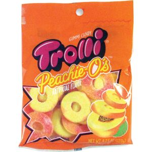 Trolli Peachie O's Gummy Candy 18pc